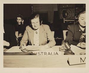 Image of Jessie Street representing Australia